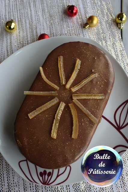 Pâtisserie : entremets chocolat-noisettes-citron