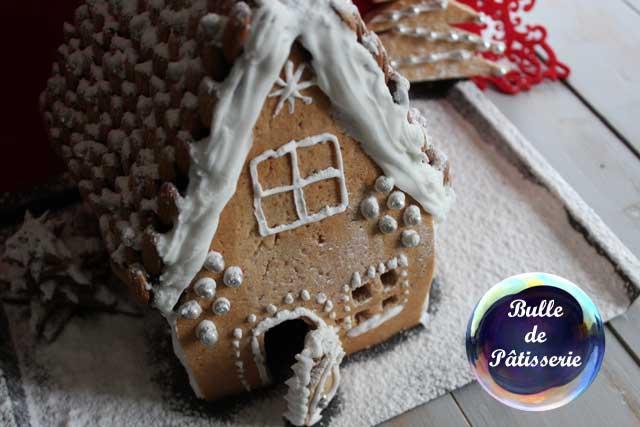 Recette de Noël : maison en pain d'épices