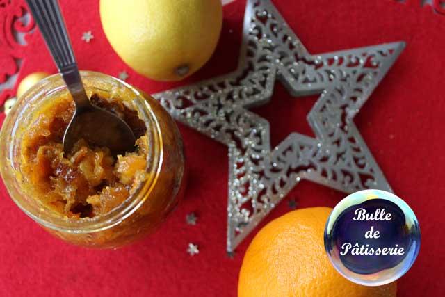 Marmelade de Noël : oranges et citrons