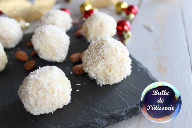 Recette de Noël : Raffaello maison