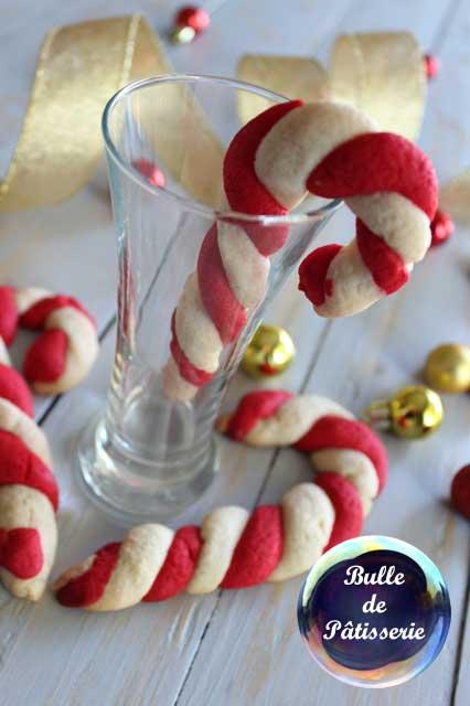 Pâtisserie de Noël : sablés façon sucre d'orge