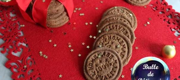 Biscuits de Noël : Speculoos maison