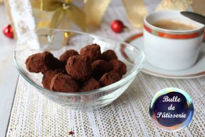 Truffes chocolat noir-rhum