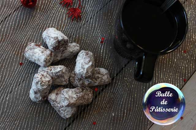 Recette de Noël : truffes muscadines chocolat au lait-Cointreau
