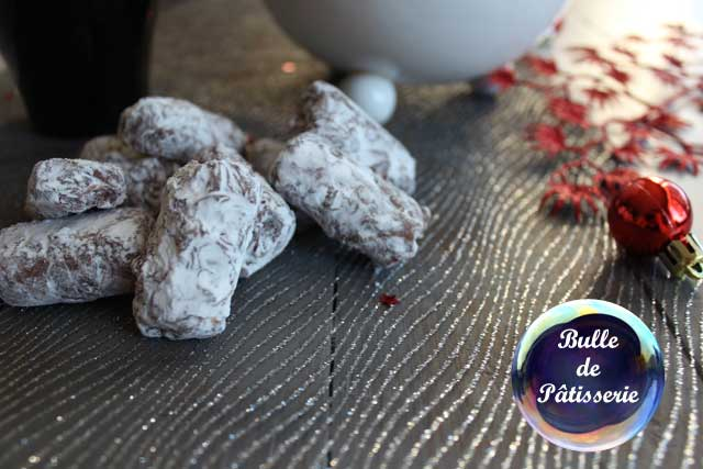Idée cadeau pour Noël : muscadines chocolat au lait-Cointreau