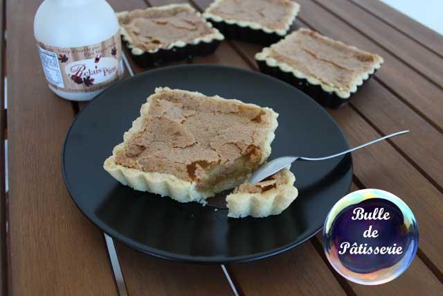 Dessert : tarte au sirop d'érable