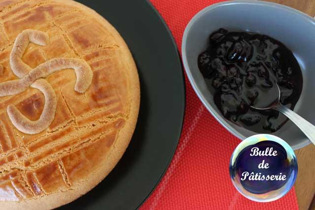 Gâteau basque aux cerises – Recette traditionnelle
