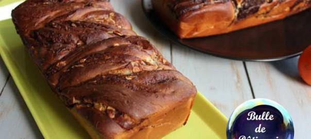 Recette : Krantz Cake chocolat au lait-amandes