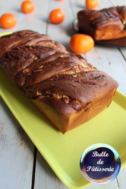 Boulange : Krantz Cake chocolat au lait-amandes