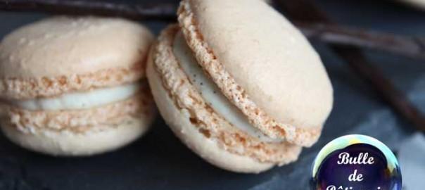 Recette : macarons à la vanille bourbon