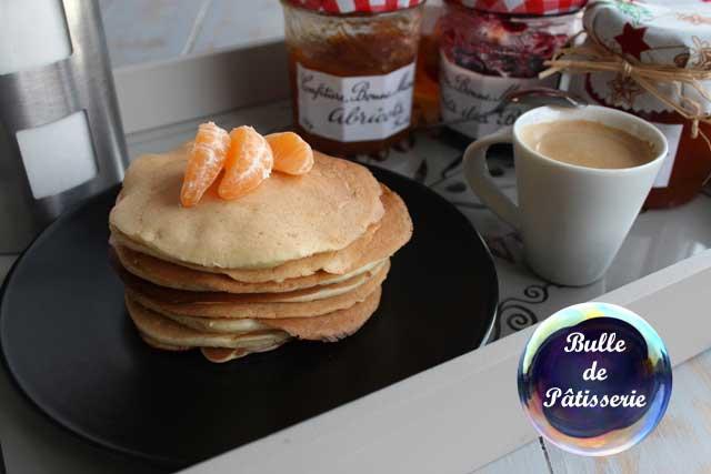 pancakes au lait de coco sans temps de repos