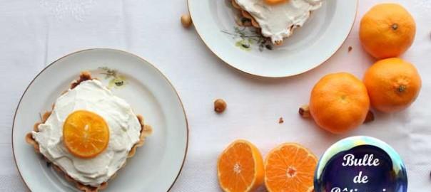 Recette : tartelettes chocolat-clémentines
