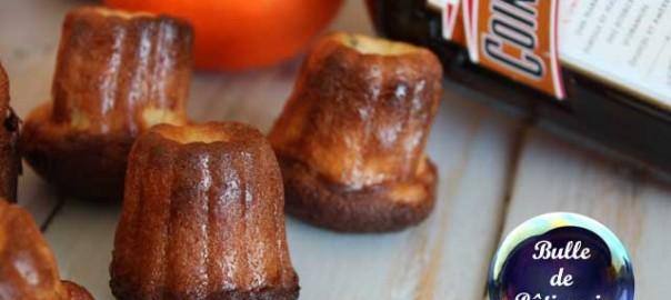 Pâtisserie : Canelés au Cointreau