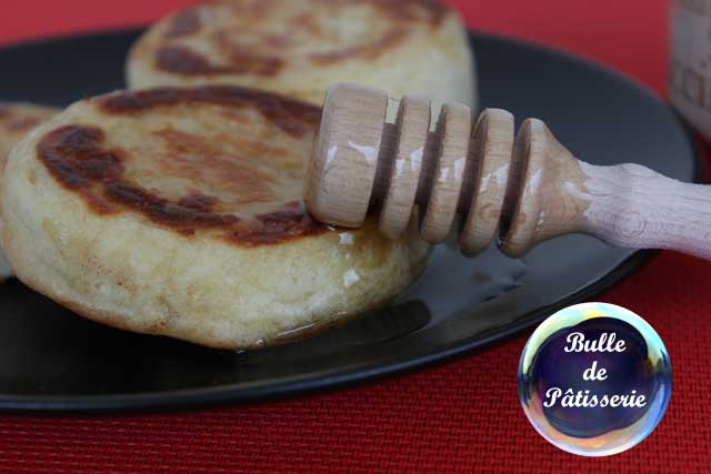 Recette anglaise : crumpets