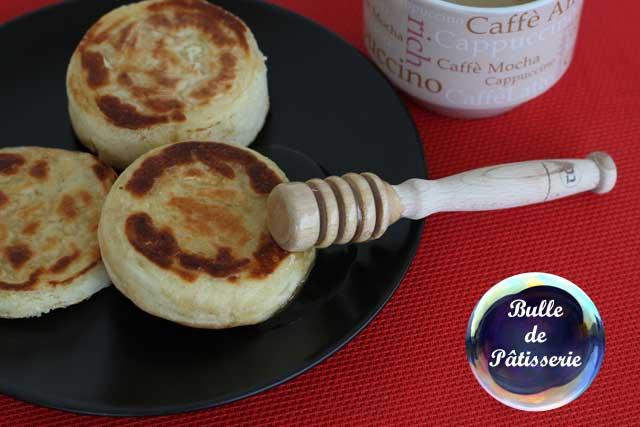 Petit déjeuner anglais : les crumpets