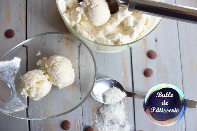 Recette facile : glace maison à la noix de coco
