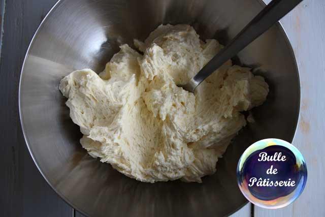 Recette : crème au beurre classique ou légère