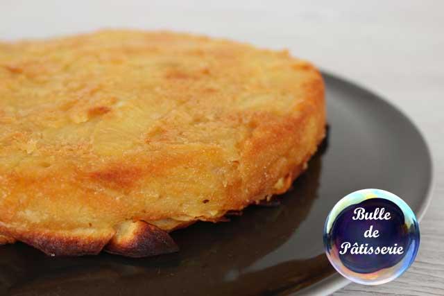 Recette : gâteau invisible aux pommes