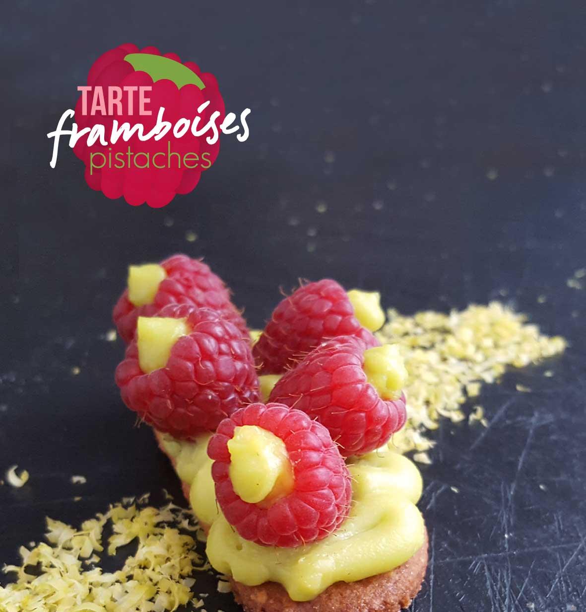 Le Chef en Box de juillet : tarte framboises-pistaches