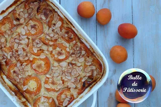 Clafoutis abricots-fleur d'oranger