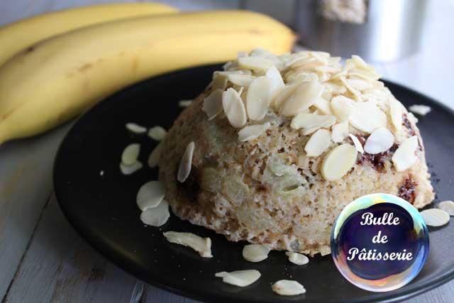 Petit déjeuner : Bowl Cake banane-chocolat