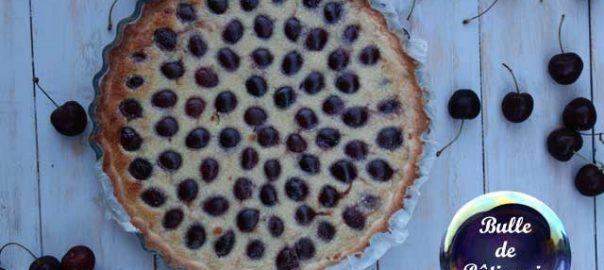 Recette estivale : tarte amandine aux cerises