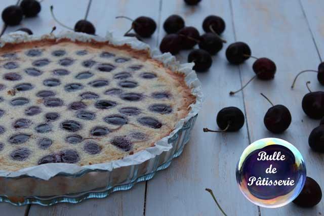Dessert d'été : tarte amandine aux cerises