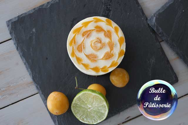 Recette : mini-cheesecakes glacés mangue-passion-citron vert