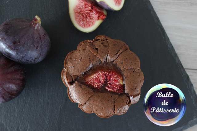 Recette gourmande : fondant chocolat-amande-figue