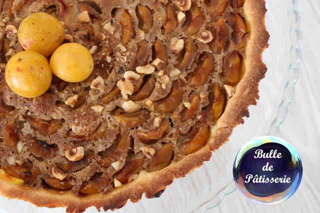 Recette automnale : tarte mirabelles-speculoos