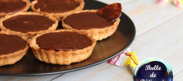 Dessert facile : tartelettes aux carambars