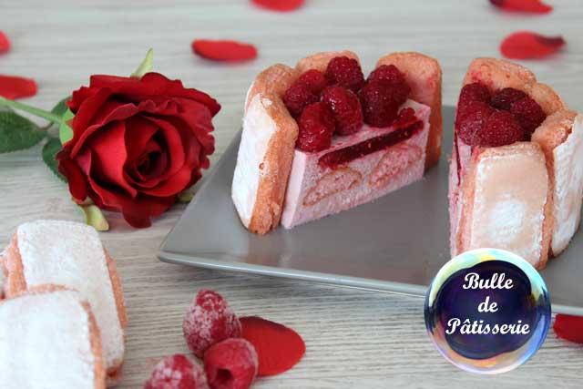 Défi Compile-moi un Menu : Octobre rose avec la charlotte Framboises-Biscuits de Reims