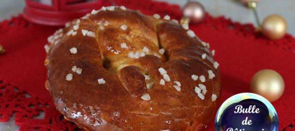Pâtisserie de Noël : Bretzel sucré