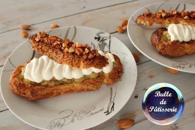 Dessert : éclairs façon tarte Bourdaloue