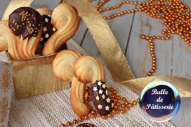 Biscuits de l'Avent : Cannes de St Nicolas