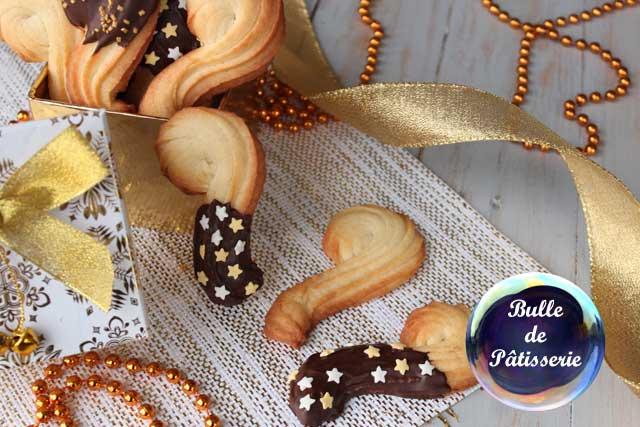 Gourmandise à réaliser avec les enfants : biscuits Cannes de St Nicolas