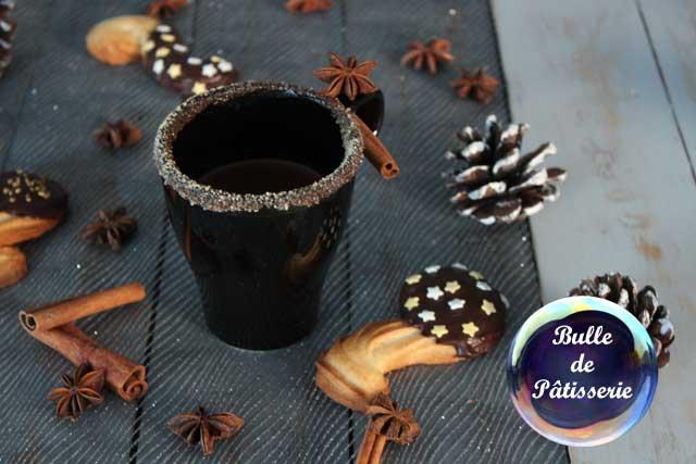 C'est l'heure du goûter ! Chocolat chaud de Noël