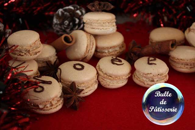 Recette de Noël : macarons pain d'épices-chocolat noir