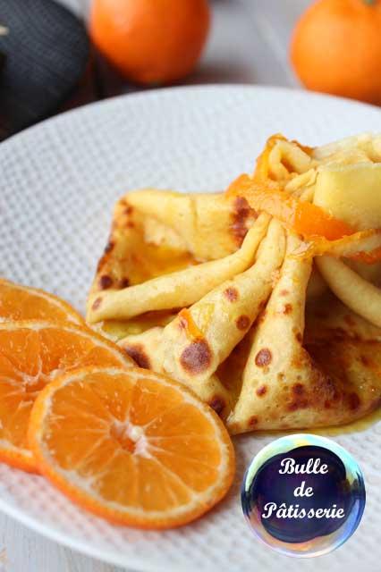 Chandeleur : aumônière de crêpes Suzette