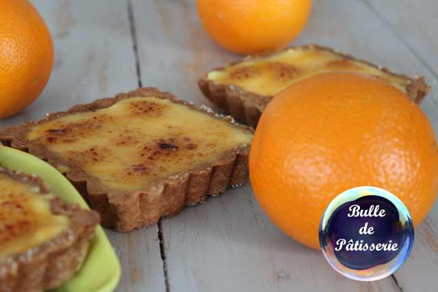 Recette hivernale : la tarte à l'orange