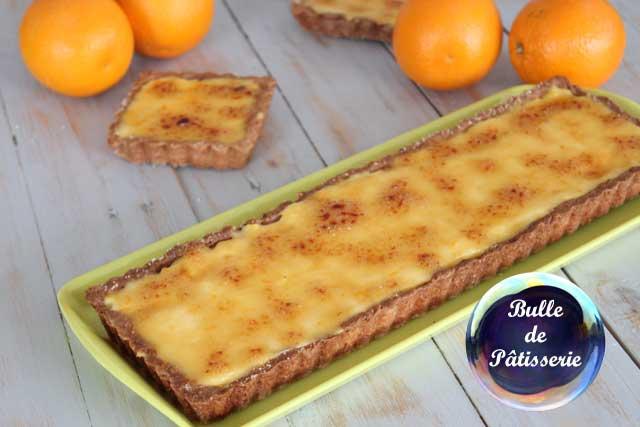 Pâtisserie facile : tarte à l'orange