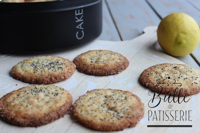 Biscuits aux 2 Citrons et Pavot
