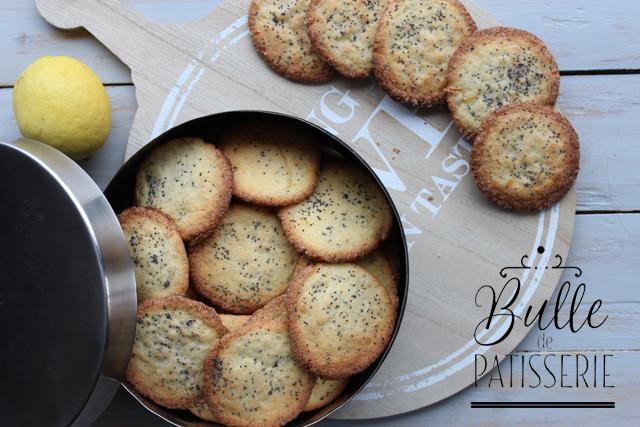 Pâtisserie rapide : biscuits aux 2 citrons & graines de pavot