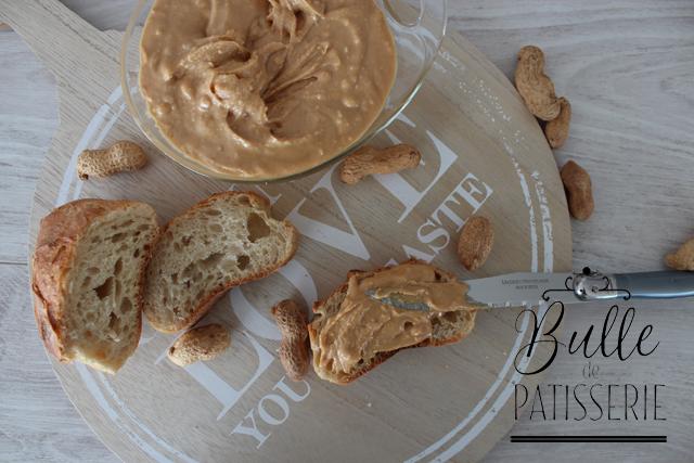 Recette facile : Beurre de cacahuètes crunchy maison