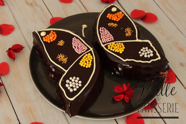 Pâtisserie à faire avec les enfants : entremets papillon