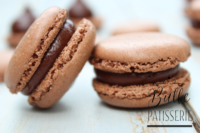 Recette gourmande : macarons au chocolat noir