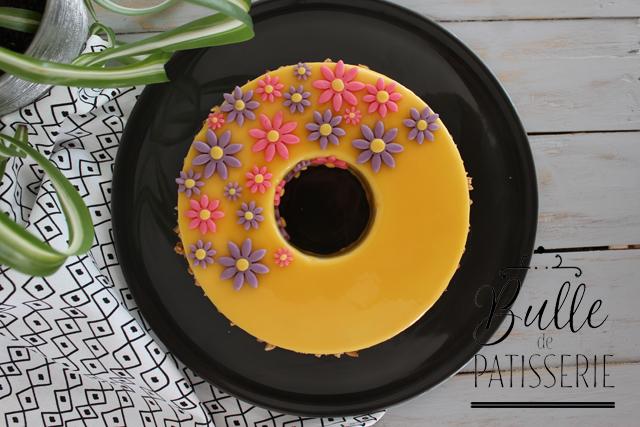 Dessert : Entremets chocolat dulcey-Cédrat-Noisettes