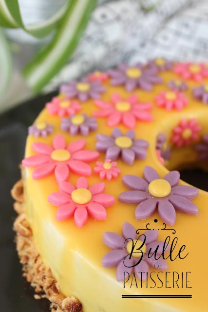 Gâteau Gourmand : Entremets Dulcey-Cédrat-Noisettes