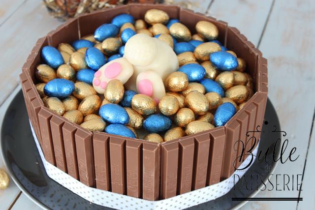 Recette de Pâques : Layer Cake chocolat blanc-myrtilles