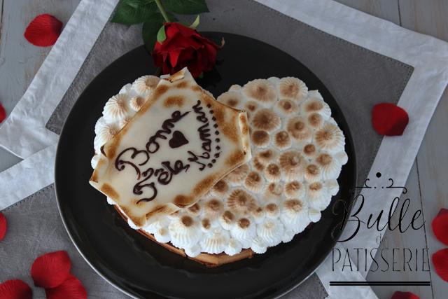 Dessert fête des mères : tarte myrtilles-meringue